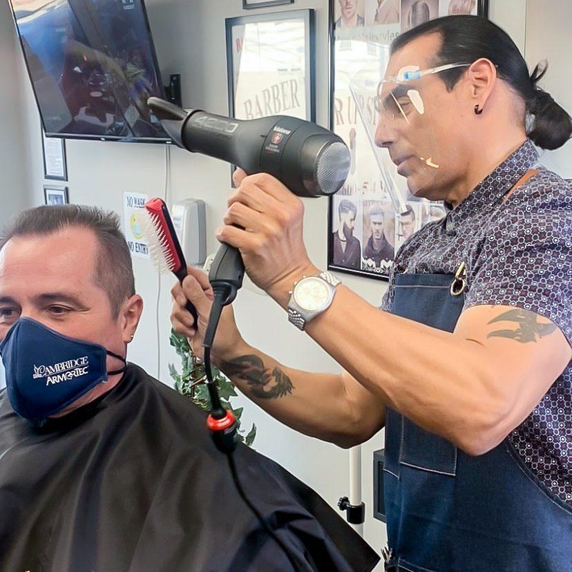 Danny Lopez, Valera Master Barber Educator